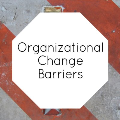 organizational change barriers