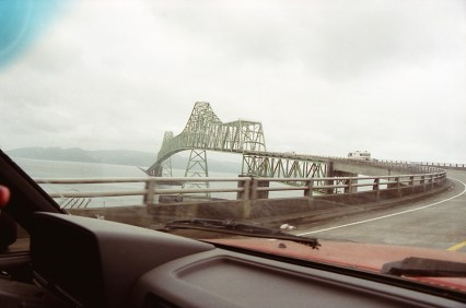 Crossing the Columbia River at Astoria