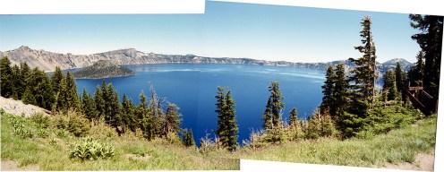 Crater Lake mosaic