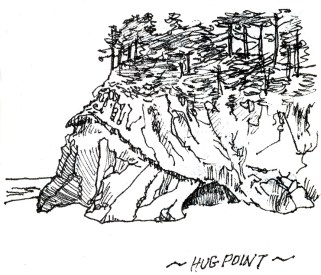 Hug Point by Peter Borden