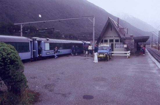 Arthurs Pass Station