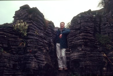 Dale at Pancake Rocks