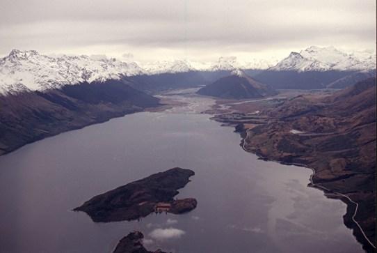Glenarchy at the top of Lake Wakatipu