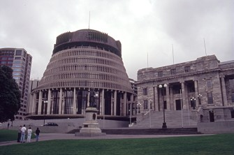 The Beehive and Parliament