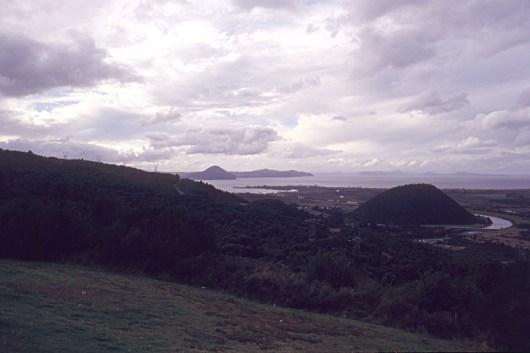 Above Lake Taupo
