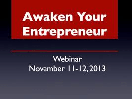 Awaken Your Entrepreneur