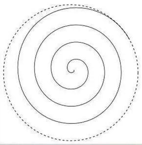 Flores de papel a partir de una espiral Dale Detalles
