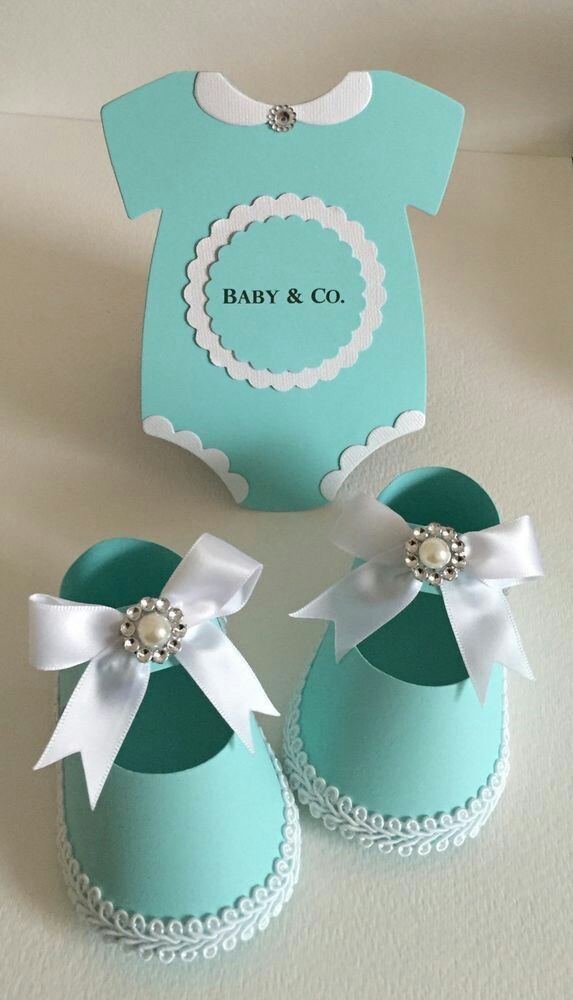 Zapatitos de papel para baby shower Dale Detalles