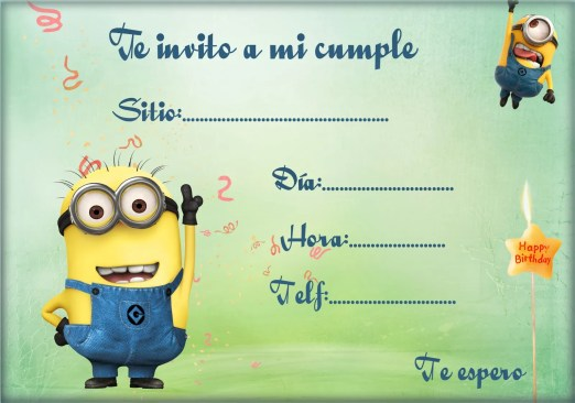 Invitacion_cumplea_minion