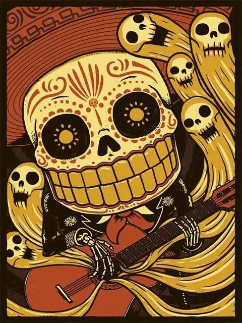 Imágenes Ilustraciones Y Dibujos Para Día De Muertos Dale Detalles
