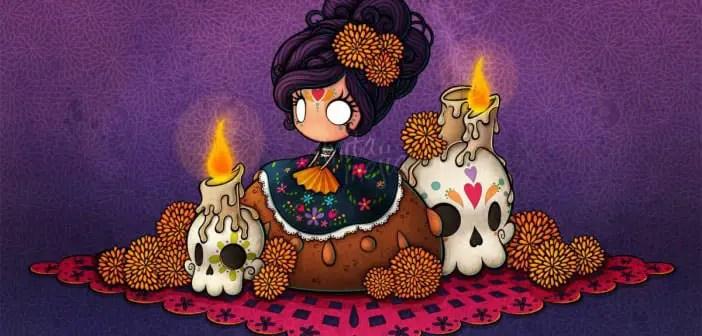 Imágenes Ilustraciones Y Dibujos Para Día De Muertos Dale