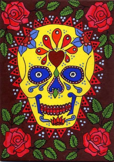 Imágenes, ilustraciones y dibujos para Día de Muertos