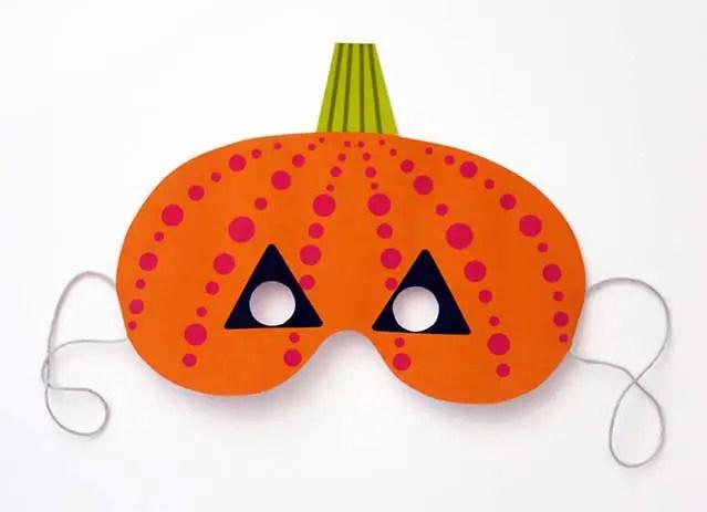 M scaras imprimibles de halloween para ni os dale detalles for Maschere stampabili