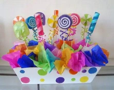 centro de mesa con dulces7
