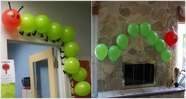 Decoraci n con globos dale detalles for Decoracion puertas dia del nino