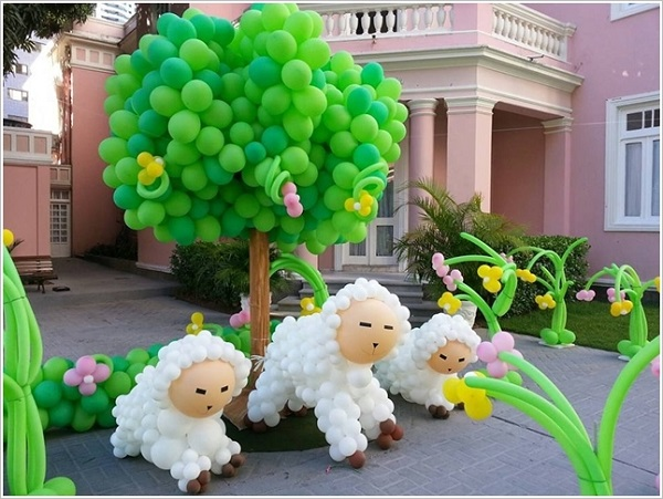Decoraci n con globos dale detalles - Como hacer decoracion con globos ...