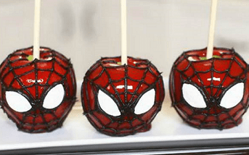 Manzanas spiderman