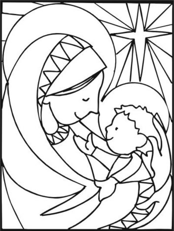 Dibujos para colorear de Navidad - Dale Detalles