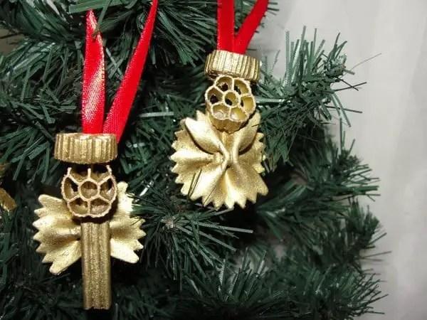 adornos navide os hechos con pasta dale detalles On arbol de navidad hecho con pasta