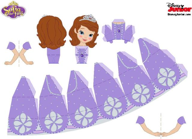Imprimible princesita sofia7