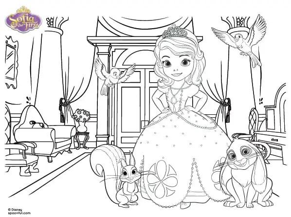 imprimible princesita sofia11