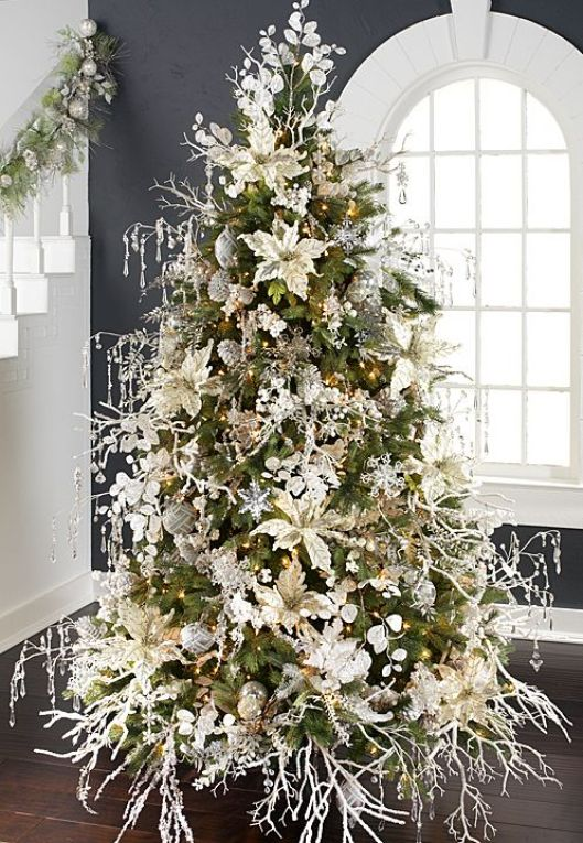 2014 Arctic Palace Tree by RAZ Imports