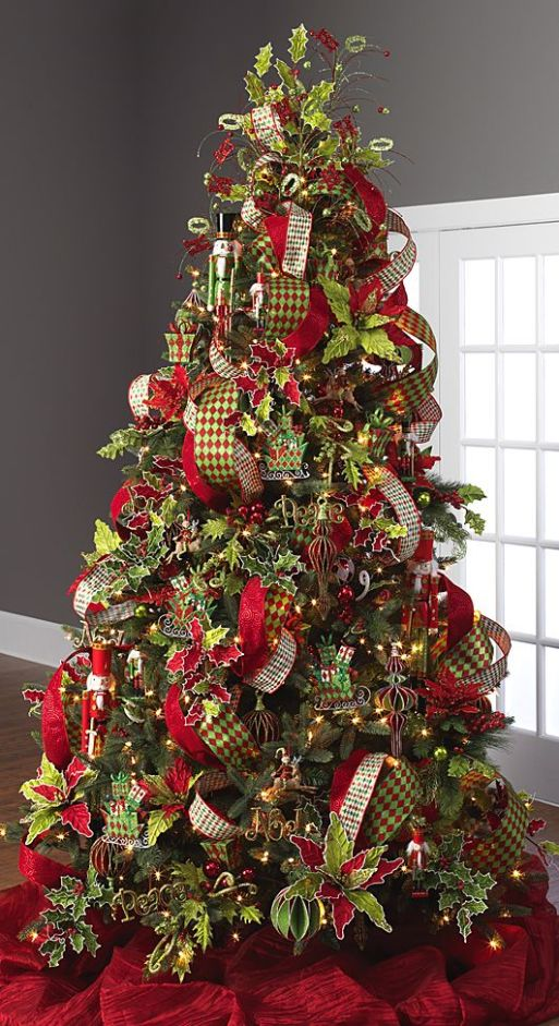 2014 Santa's Holiday Tree by RAZ Imports