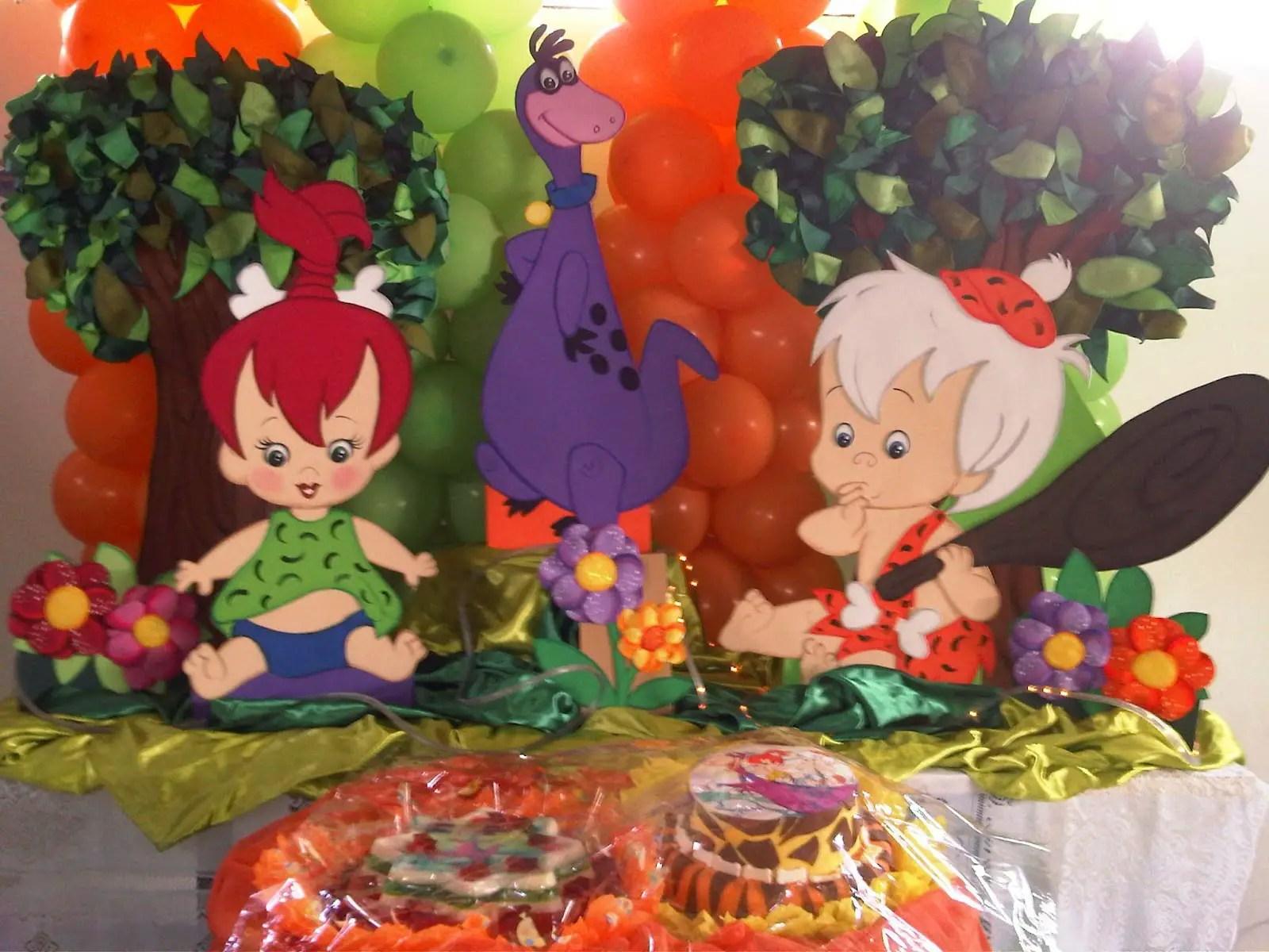 Fiesta Temática De Pebbles Dale Detalles