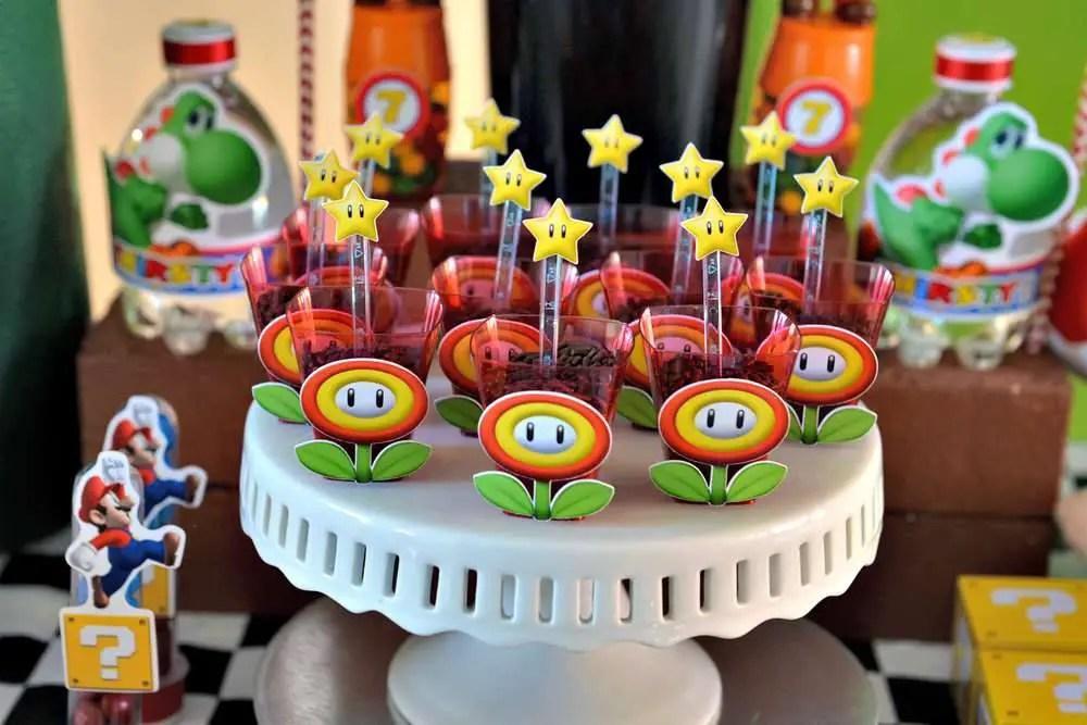 Fiesta Super Mario Bros Dale Detalles