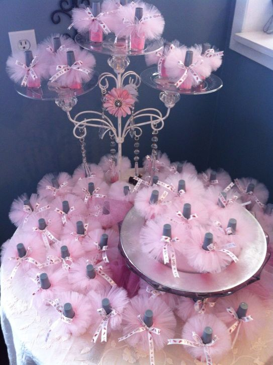 princess bridal shower favors