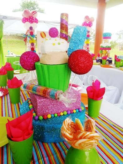 Ideas de decoraci n candy land dale detalles for Diy decoracion cumpleanos