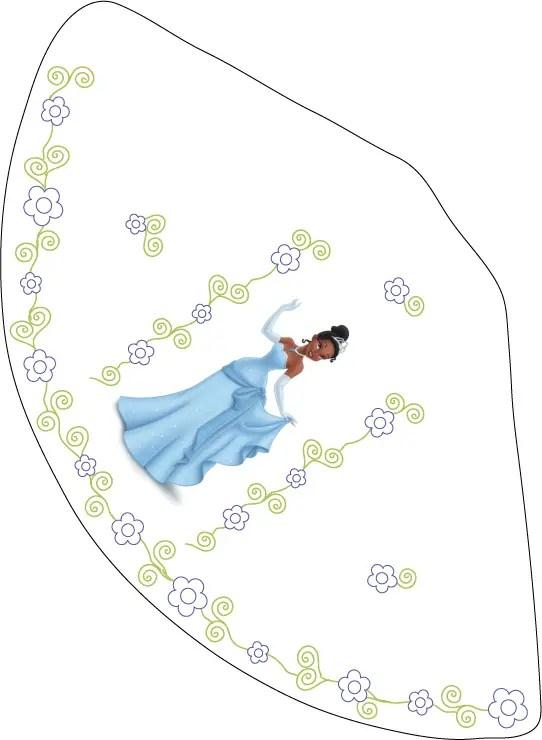 imprimible la princesa y el sapo gratis