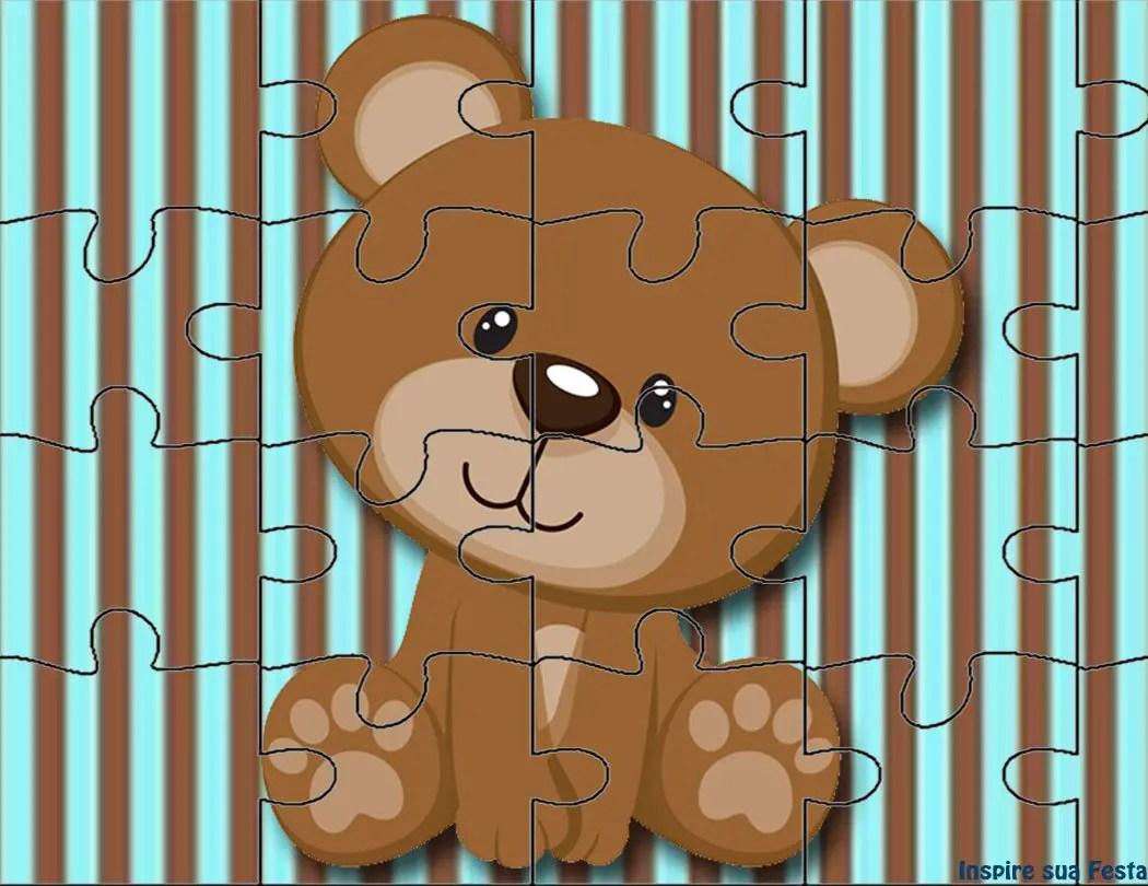 Imprimibles gratis para Baby Shower de ositos - Dale Detalles
