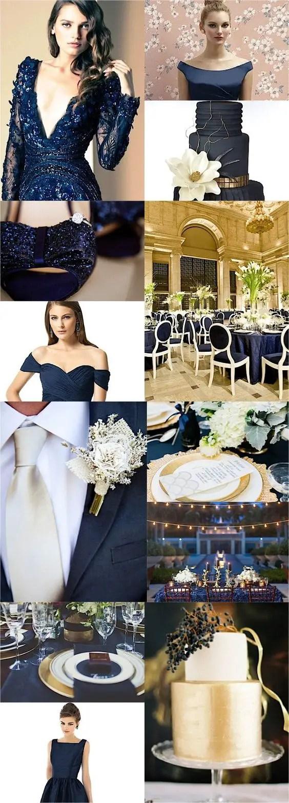 boda en azul marino1