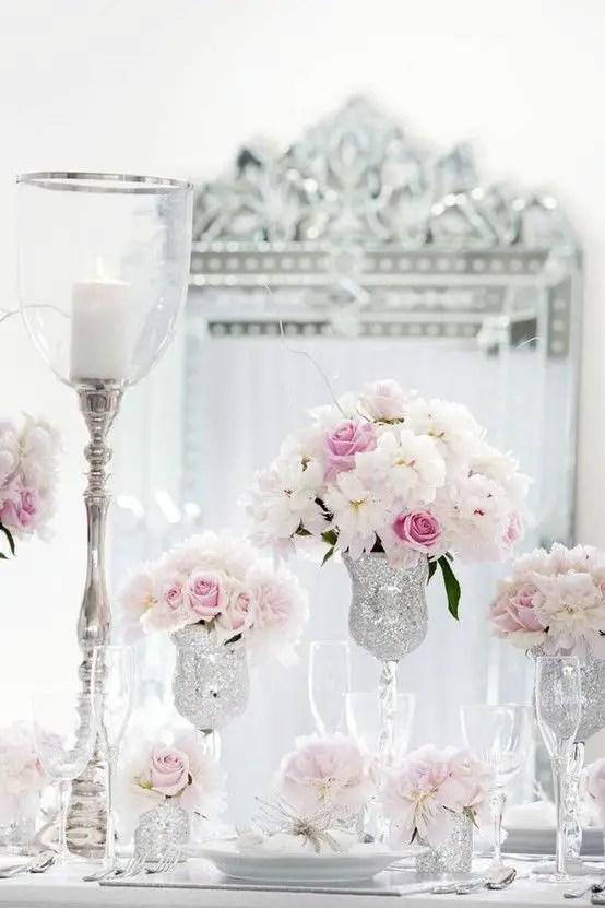boda rosa y gris11