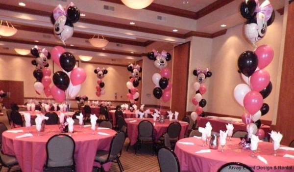 Baby shower minnie mouse dale detalles - Minnie mouse baby shower decorations ...