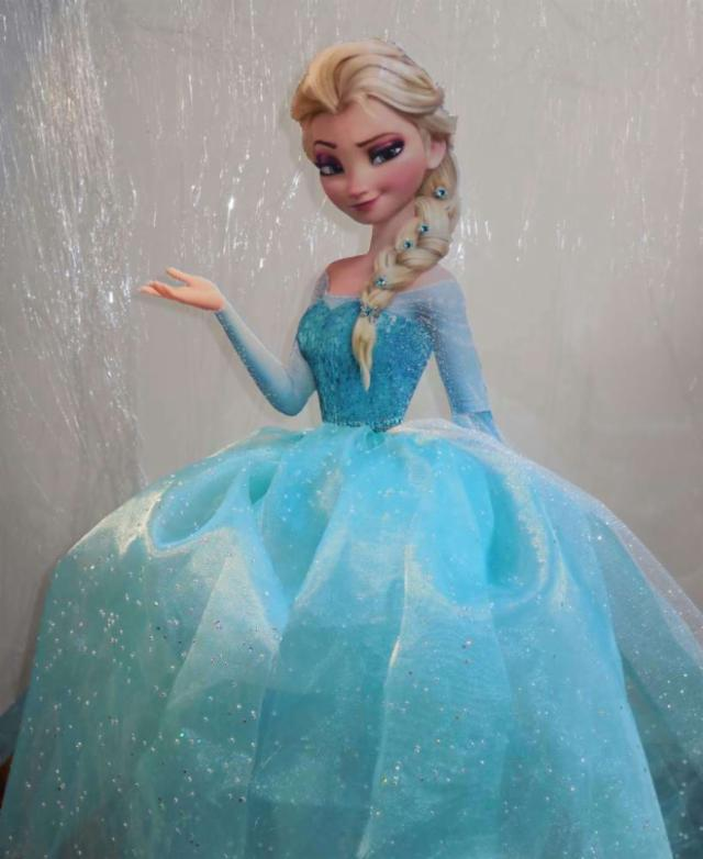 Centros De Mesa De Princesas Con Vestidos De Tul Dale