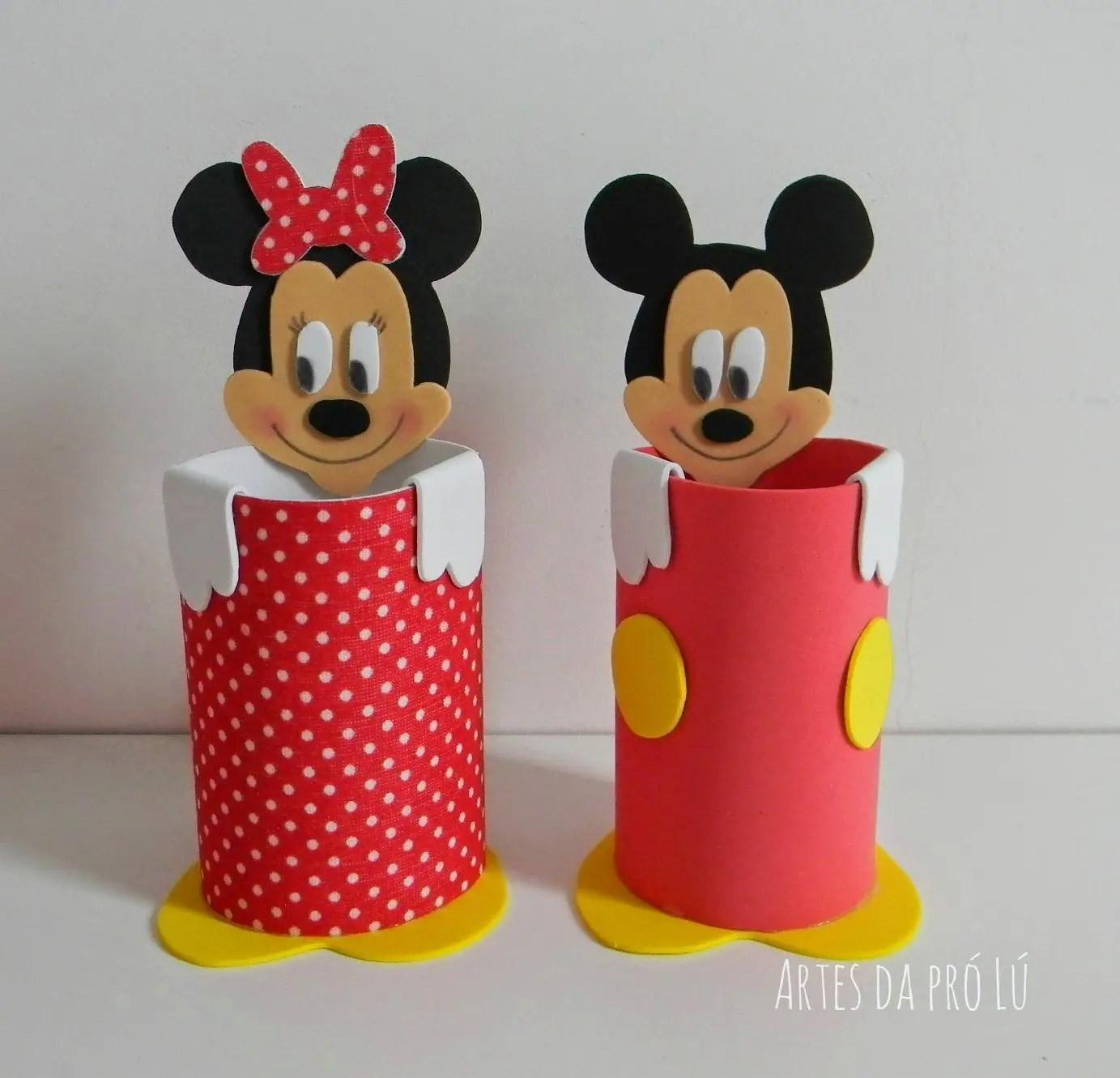 Hacer Como Minnie Un De Centro De Mesa Mouse