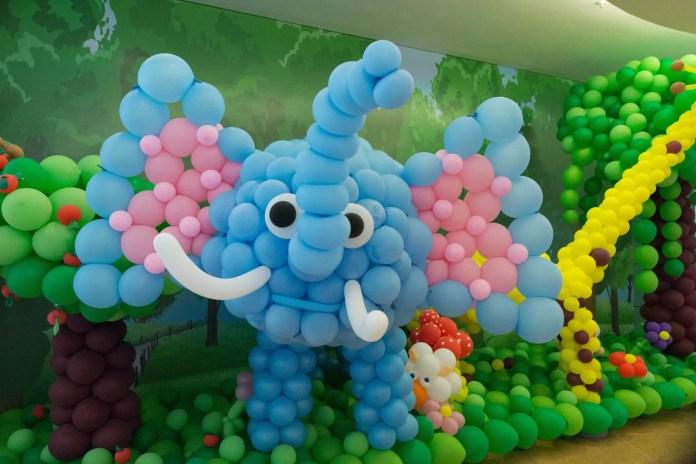 globo elefante