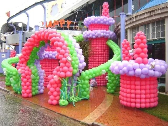 Decoracin con globos increbles Dale Detalles
