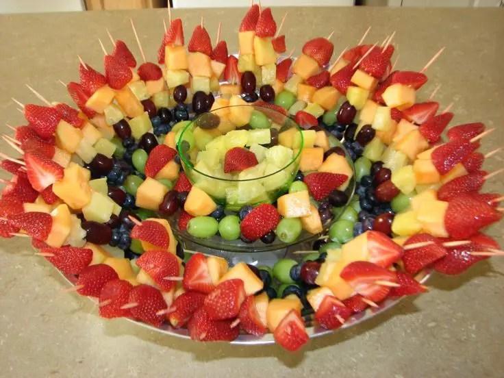 Brochetas De Fruta Super Original Dale Detalles