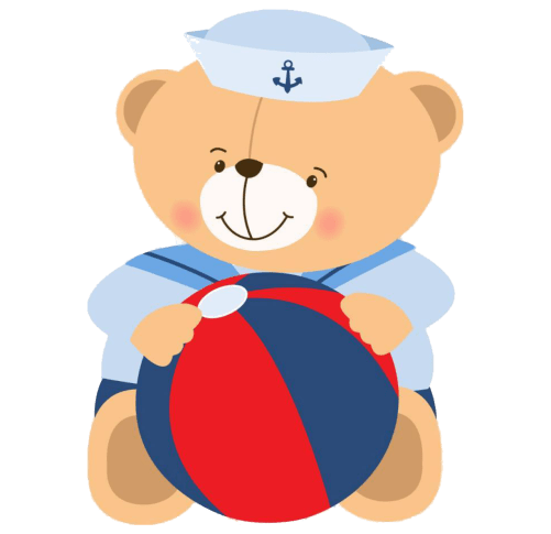 Ositos marineros, imprimibles gratuitos9