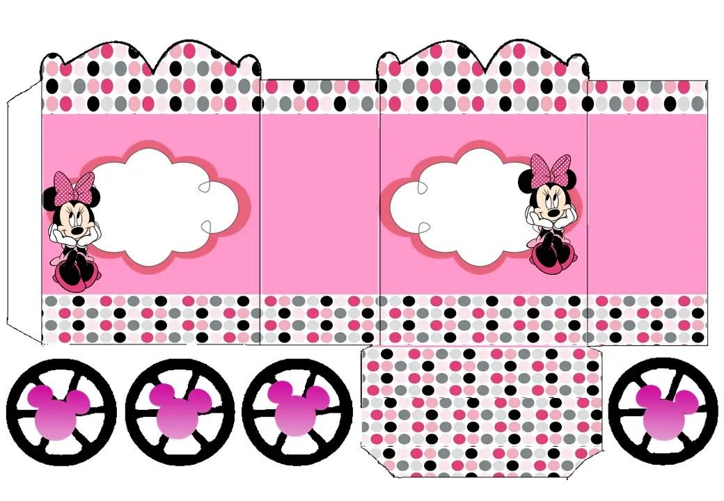 Shower De Invitaciones Mouse Hacer Como Para Minnie Baby