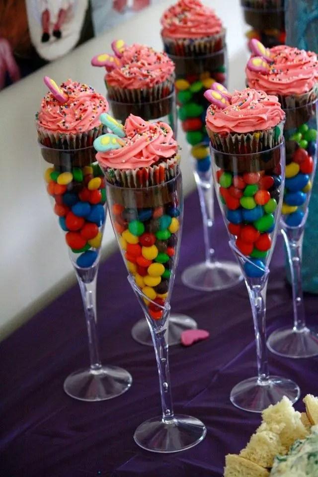 Cupcakes En Copas Dale Detalles