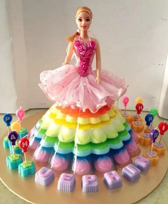 gelatina princesa12