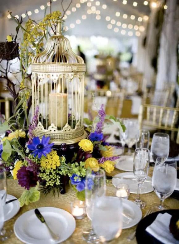 cmo para la decoracin de tus centros de mesa si ests buscando ideas para hacer tus centros de mesa con jaulas te muestro bellos ejemplos