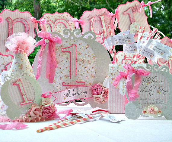 Tecnica Del Shabby Chic.Shabby Chic Para Fiesta Infantil Dale Detalles