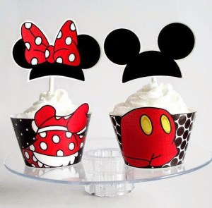 wrappers de minnie y mickey