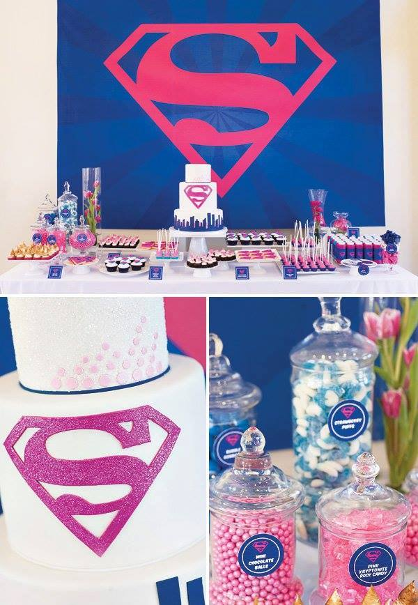 Supergirl Linda Fiesta Para Super Ni 241 As Dale Detalles