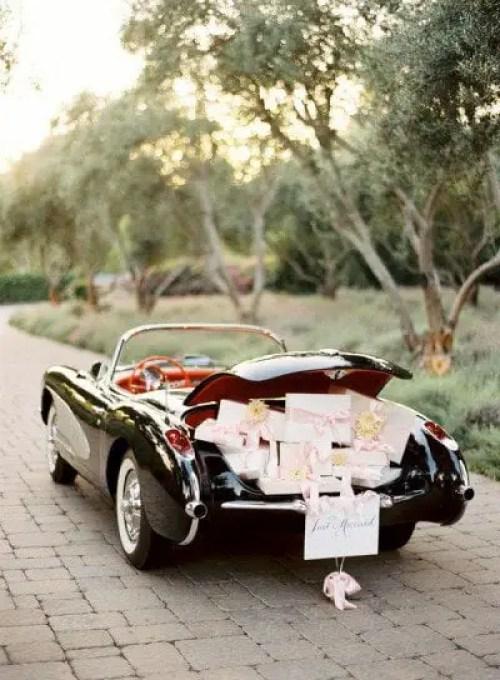 decoracion de auto para boda1